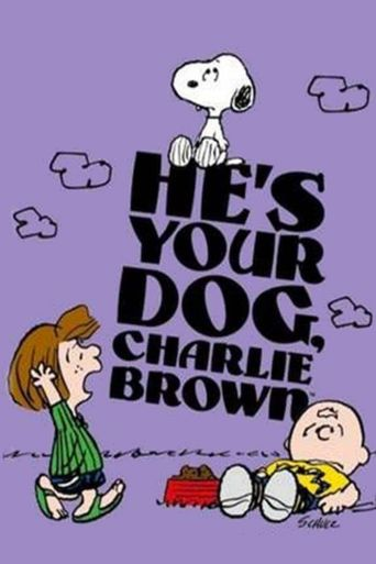 He's Your Dog, Charlie Brown Poster