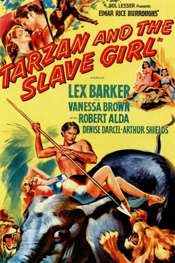 Tarzan and the Slave Girl Poster