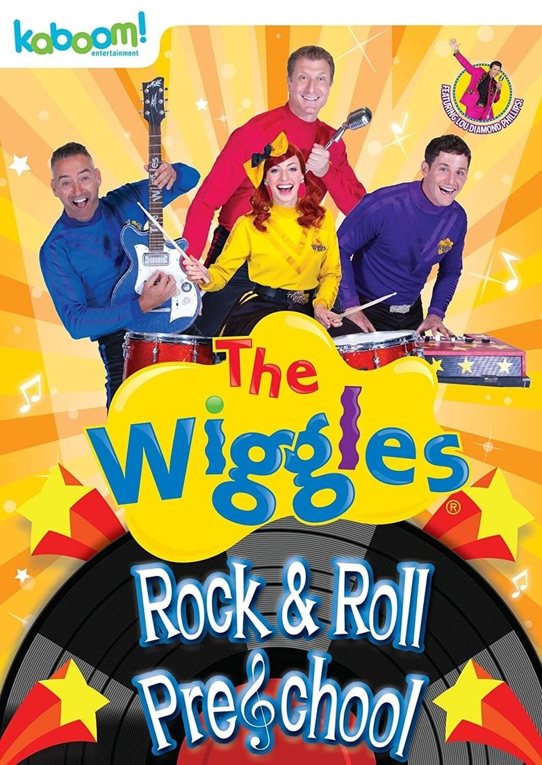 The Wiggles - Rock and Roll Preschool Poster