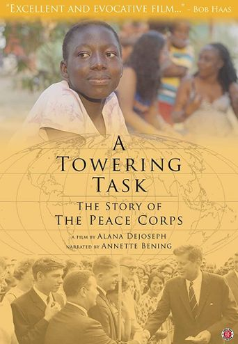 A Towering Task: The Story of the Peace Corps Poster