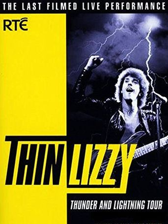 Thin Lizzy: Thunder and Lightning Tour Poster