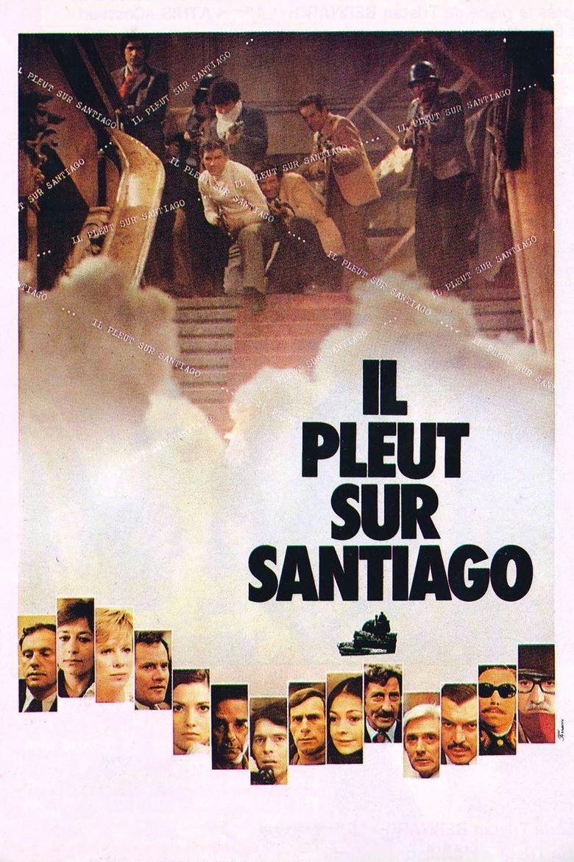 Rain over Santiago Poster