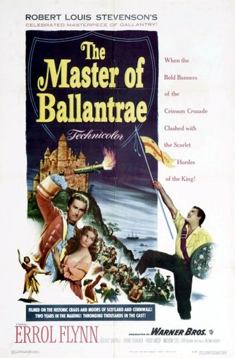 The Master of Ballantrae Poster