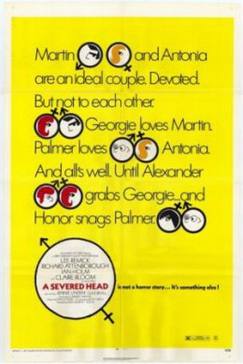 A Severed Head Poster