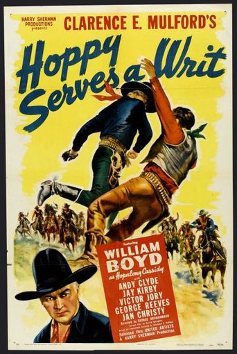 Hoppy Serves a Writ Poster