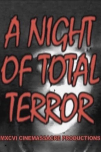 A Night of Total Terror Poster