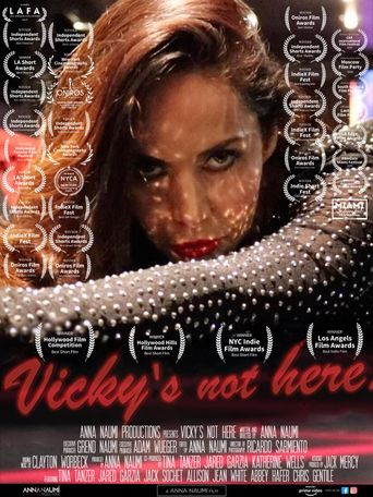 Vicky's not here Poster