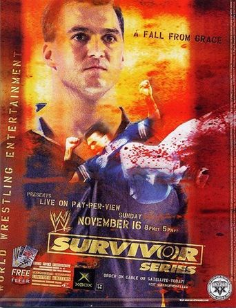 WWE Survivor Series 2003 Poster