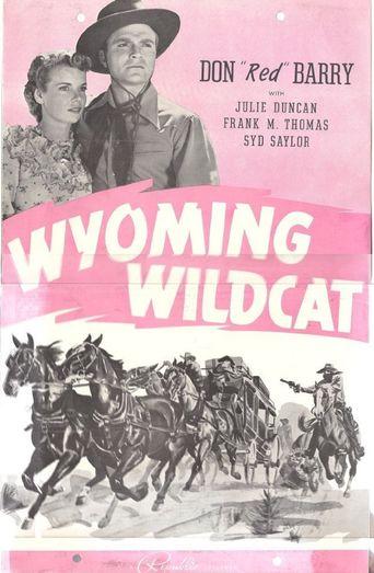 Wyoming Wildcat Poster