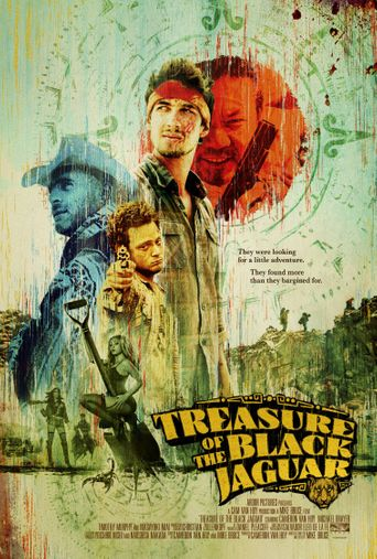 Treasure of the Black Jaguar Poster