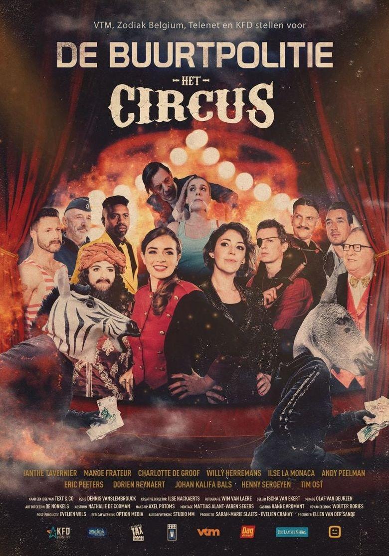De Buurtpolitie: Het Circus Poster