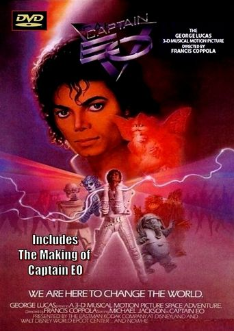 The Making of Captain EO Poster