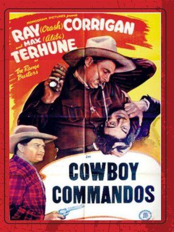 Cowboy Commandos Poster