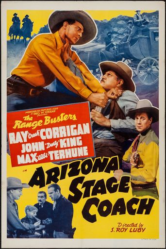 Arizona Stage Coach Poster