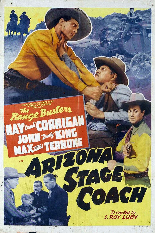 Arizona Stage Coach Poster