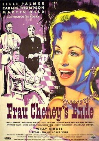 Frau Cheneys Ende Poster