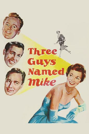 Three Guys Named Mike Poster