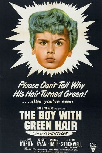The Boy with Green Hair Poster