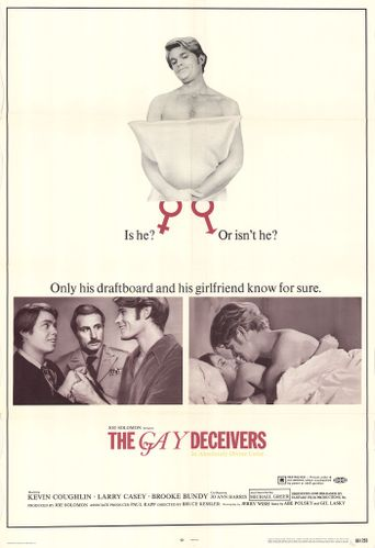 The Gay Deceivers Poster