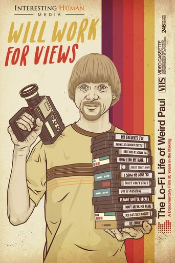 Will Work for Views: The Lo-Fi Life of Weird Paul Poster