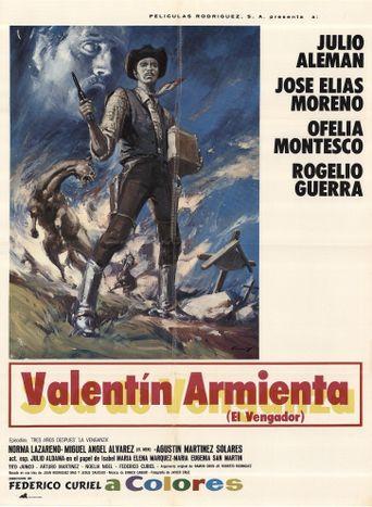 Valentín Armienta, el vengador Poster