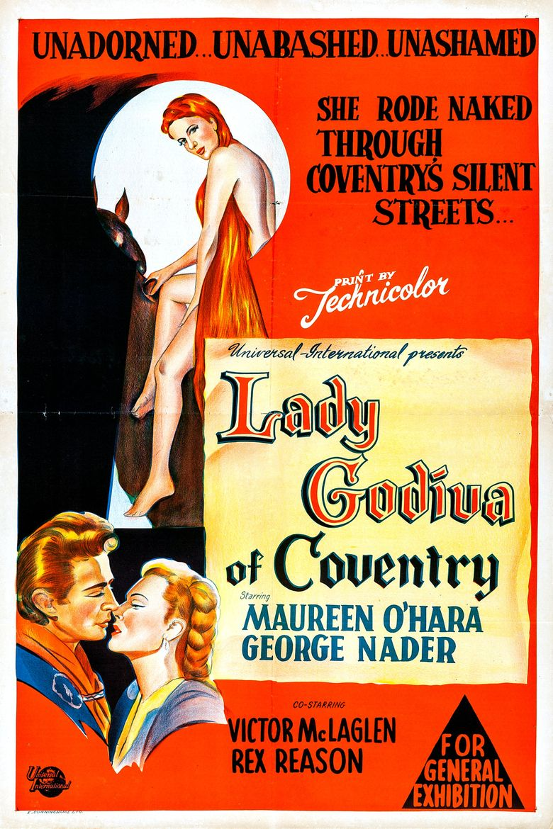 Lady Godiva of Coventry Poster