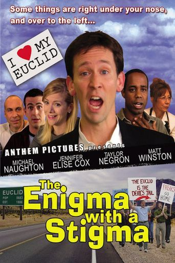 The Enigma with a Stigma Poster