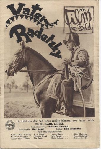 Vater Radetzky Poster