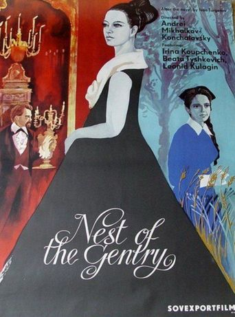 A Nest of Gentry Poster