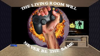The Living Room Will Never be the Same: Hardcore History of Online Gaming Poster