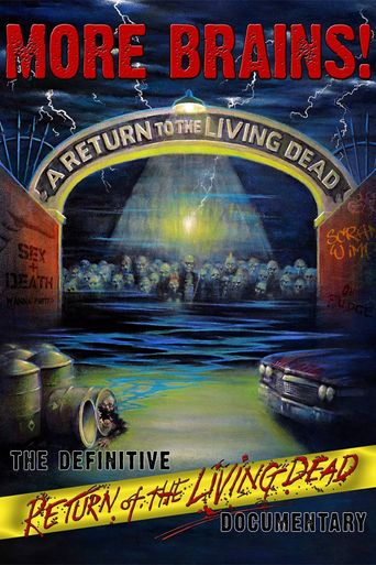 More Brains! A Return to the Living Dead Poster