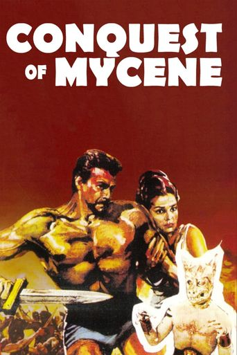 The Conquest of Mycenae Poster