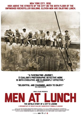 Men at Lunch Poster