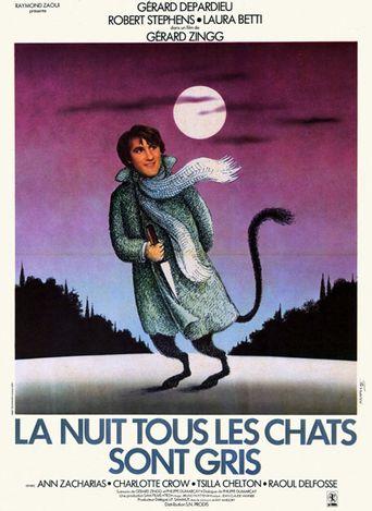 La nuit, tous les chats sont gris Poster