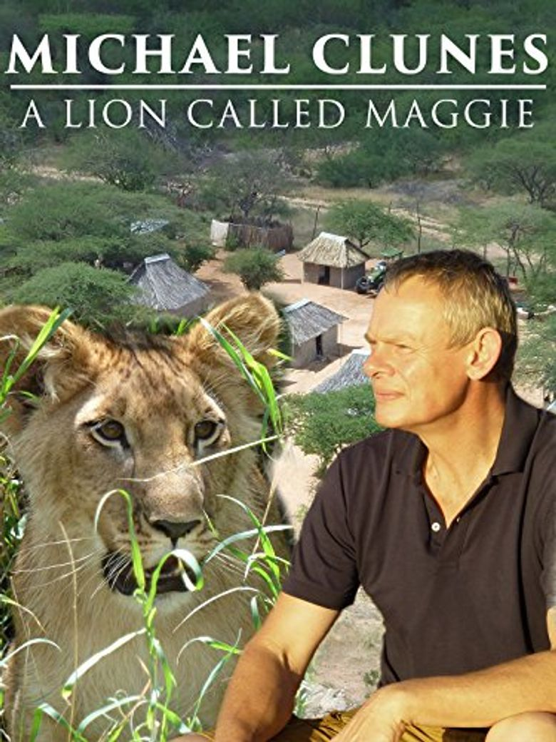 Martin Clunes & a Lion Called Mugie Poster