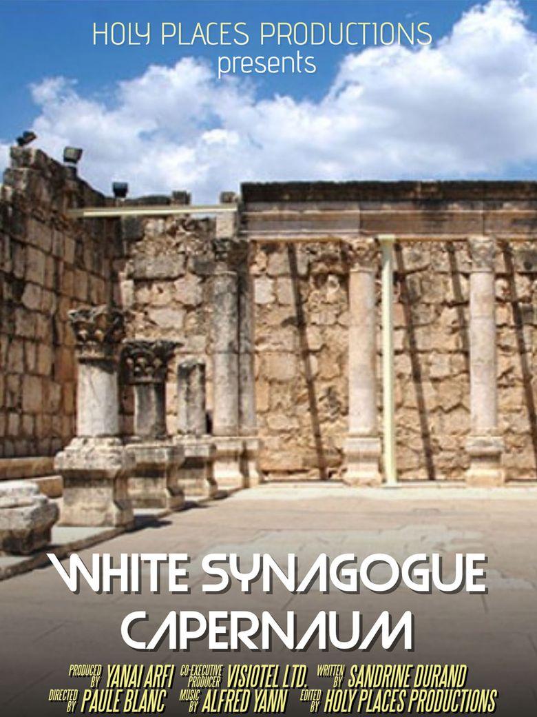 White Synagogue Capernaum Poster