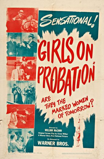 Girls on Probation Poster