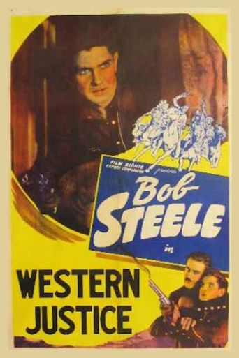 Western Justice Poster