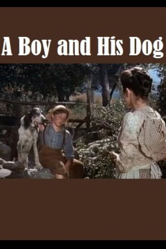A Boy and His Dog Poster
