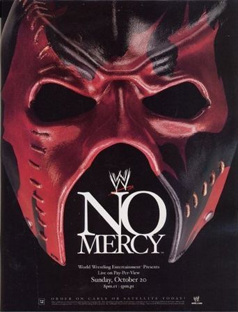 WWE No Mercy 2002 Poster