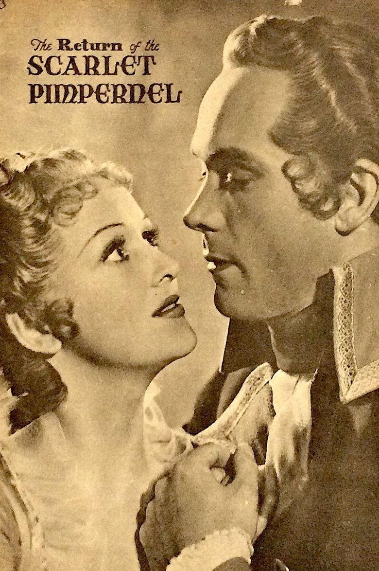 Return of the Scarlet Pimpernel Poster