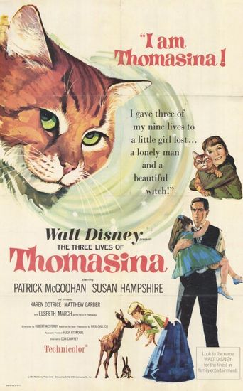 The Three Lives of Thomasina Poster
