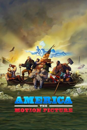 America: The Motion Picture Poster