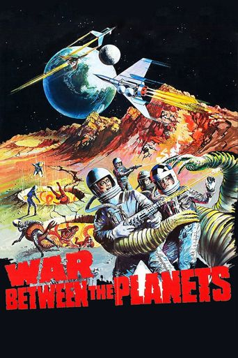 War Between the Planets Poster