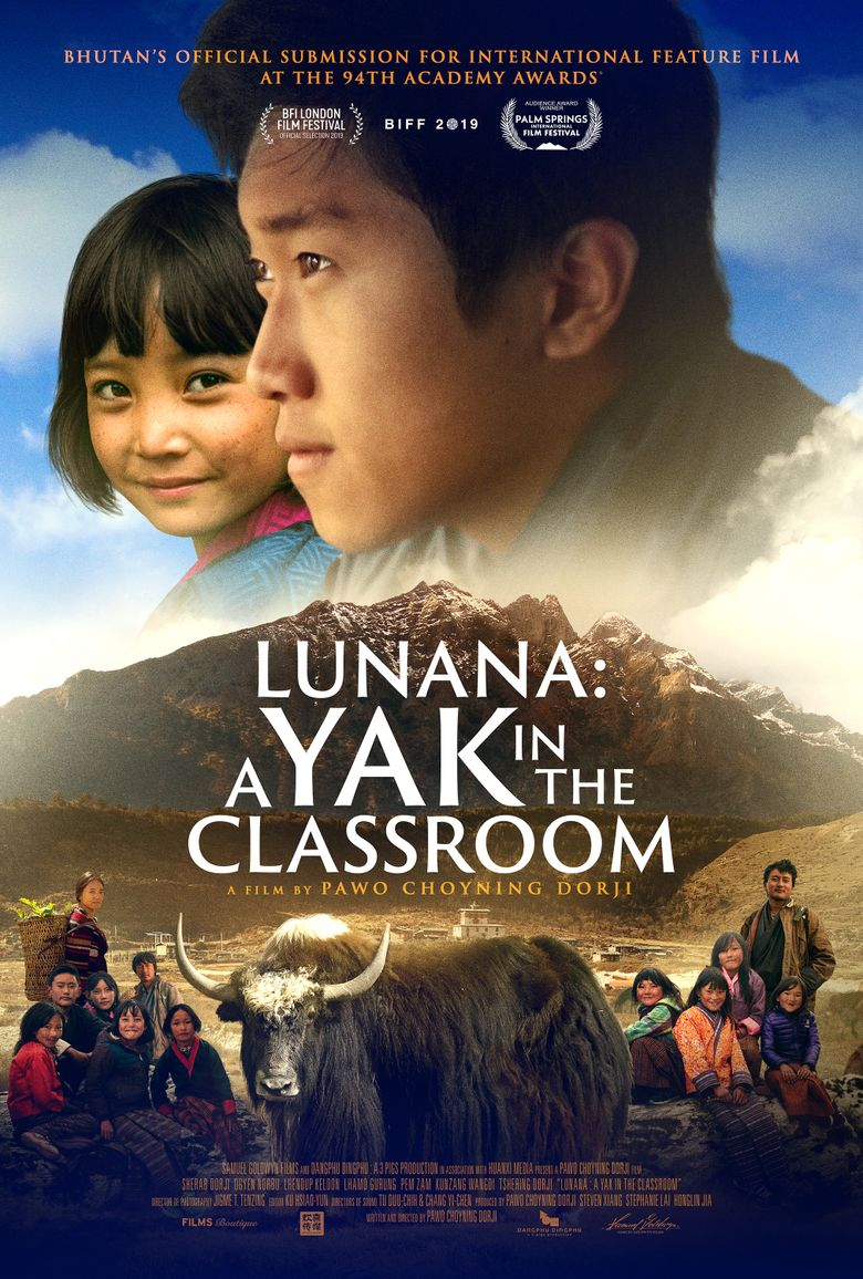 Lunana: A Yak in the Classroom Poster