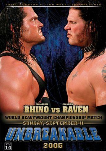 TNA Unbreakable 2005 Poster