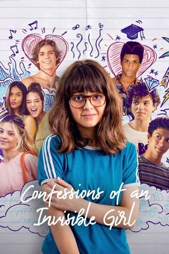 Confessions of an Invisible Girl Poster