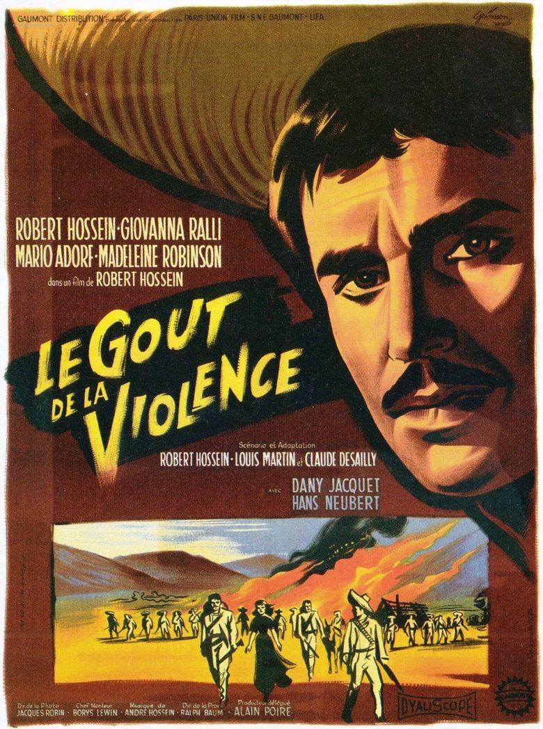 The Taste of Violence Poster