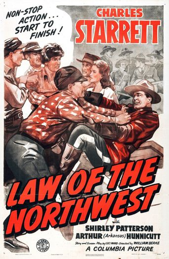 Law of the Northwest Poster