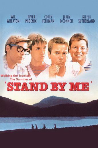 Walking the Tracks: The Summer of 'Stand by Me' Poster